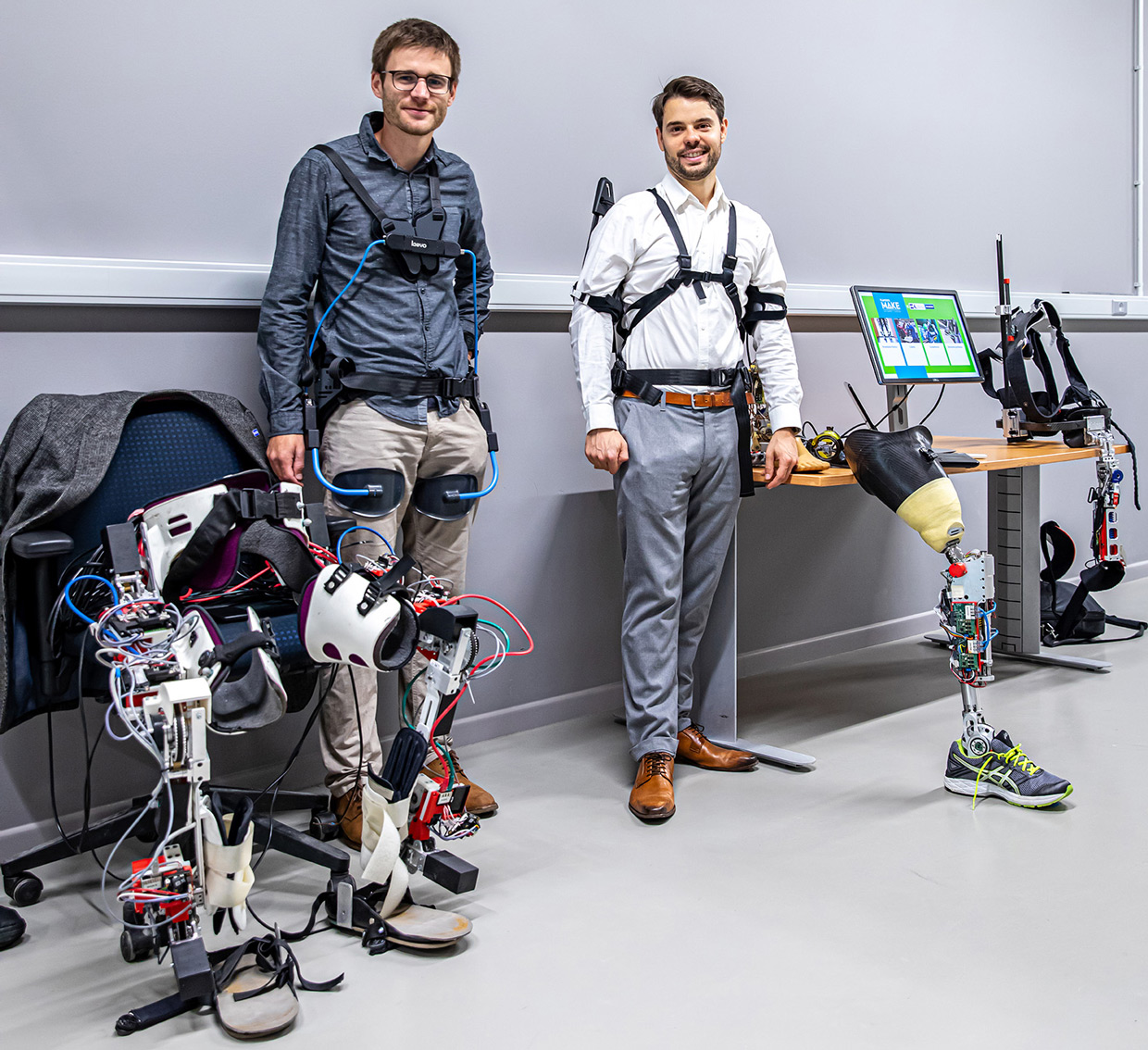 Flanders Make - Rehabilitation exoskeleton