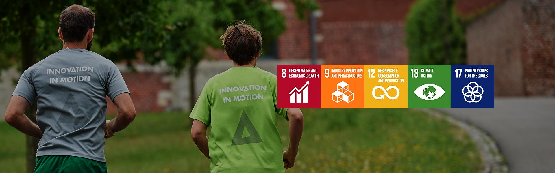 Flanders Make committed to 5 sustainable development objectives of the UN.